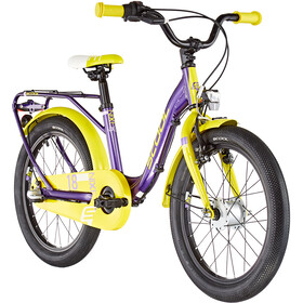 s'cool niXe alloy street 18 3-S Kids purple metalic /yellow